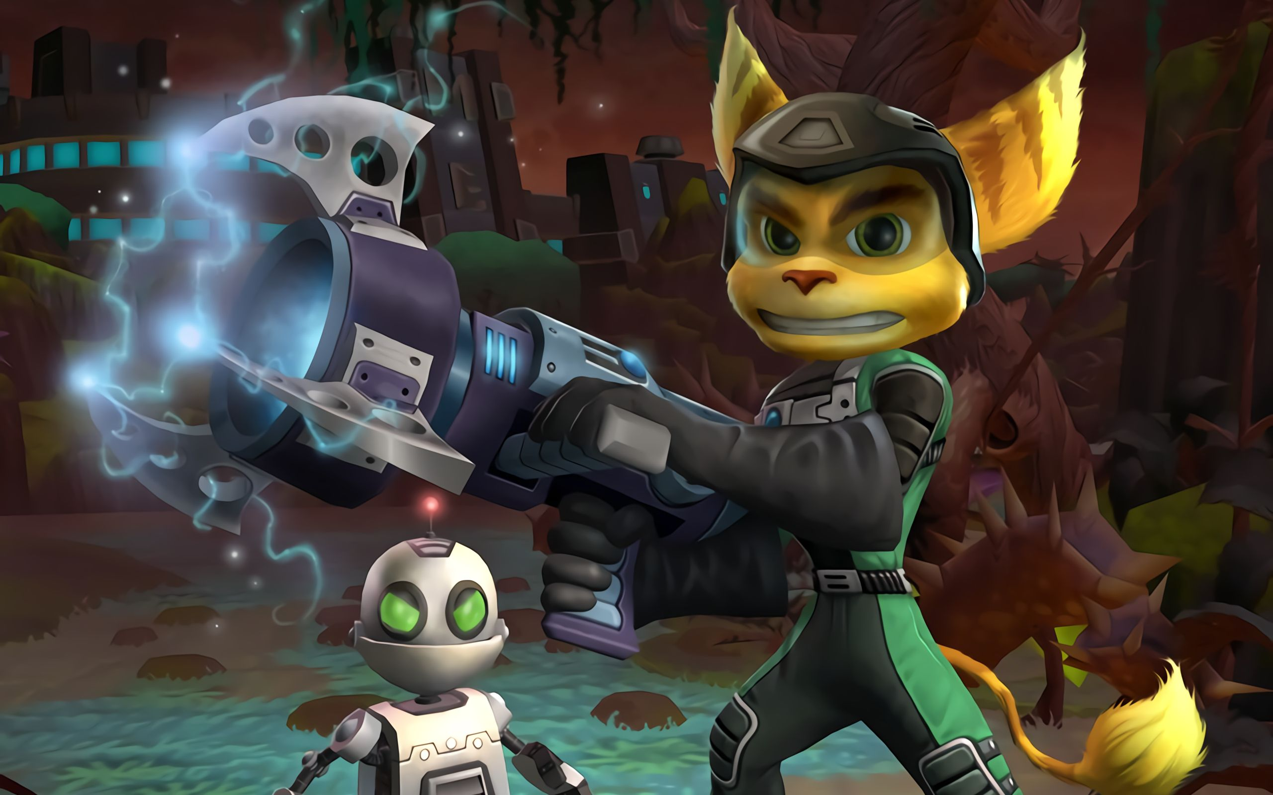 Ratchet And Clank Kinox.To